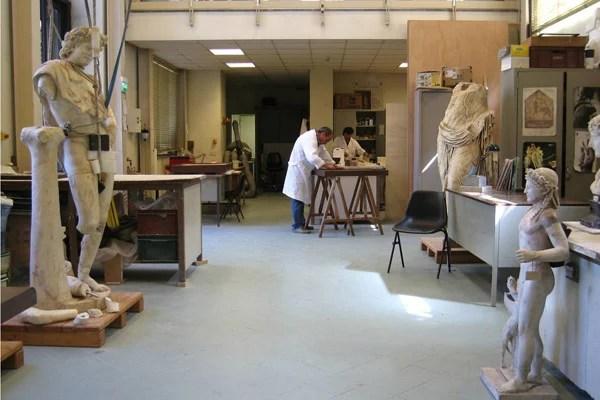 Laboratorio di restauro, MANN
