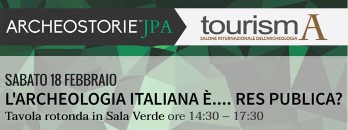 tourisma2017, archeologia pubblica