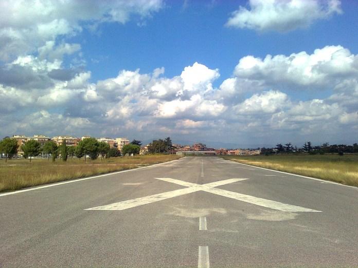 Pista aeroporto Parco di Centocelle