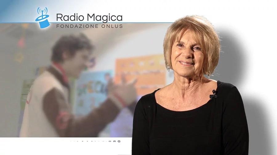 Lella Costa per Radio Magica