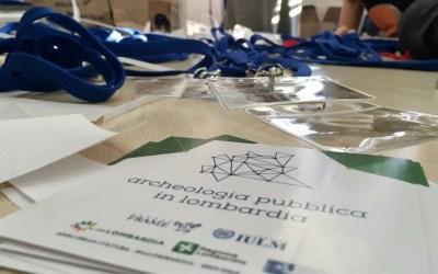 Archeologia pubblica in Lombardia: un'indagine rivela cosa e quanto si fa