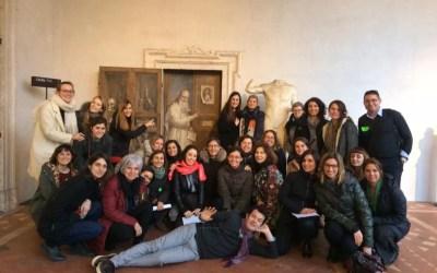 Educazione museale con tutti i sensi! Una giornata con Marco Peri alle Terme di Diocleziano