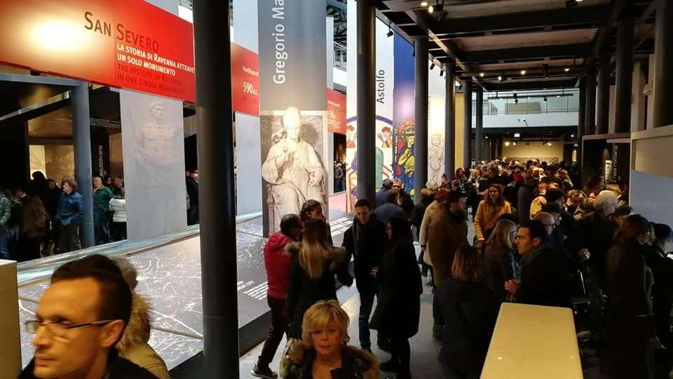 Inaugurazione museo di Classe