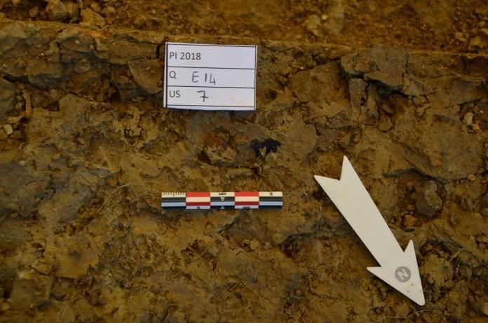 Piovesello sedimento archeologico