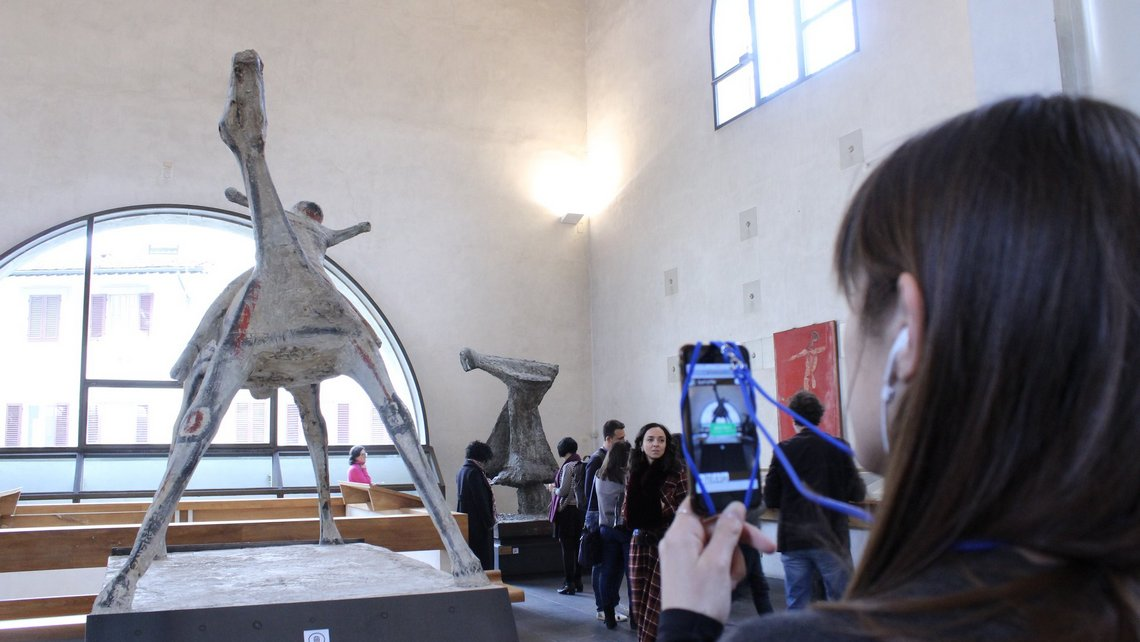 MuseiEmotivi al Museo Marino Marini di Firenze