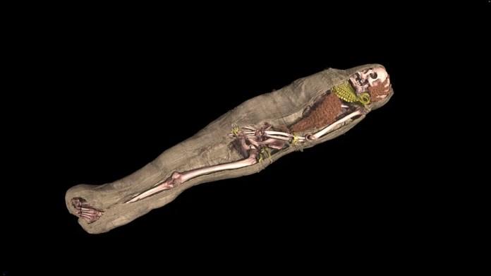 archeologia invisibile mummia di Merit