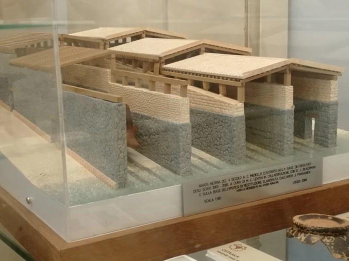 Museo di Naxos, modellino degli arsenali