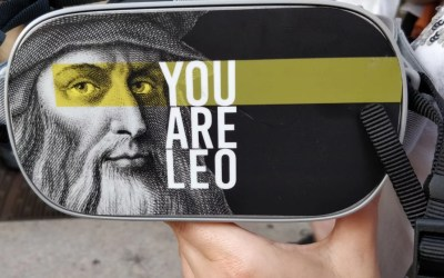 You are Leo: street tour su Leonardo da Vinci, tra storytelling e tecnologia