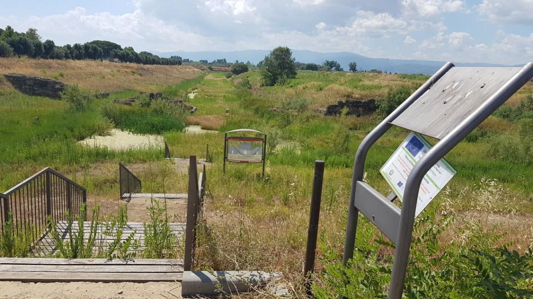 Sibari Parco del Cavallo plateia A da Porta Nord
