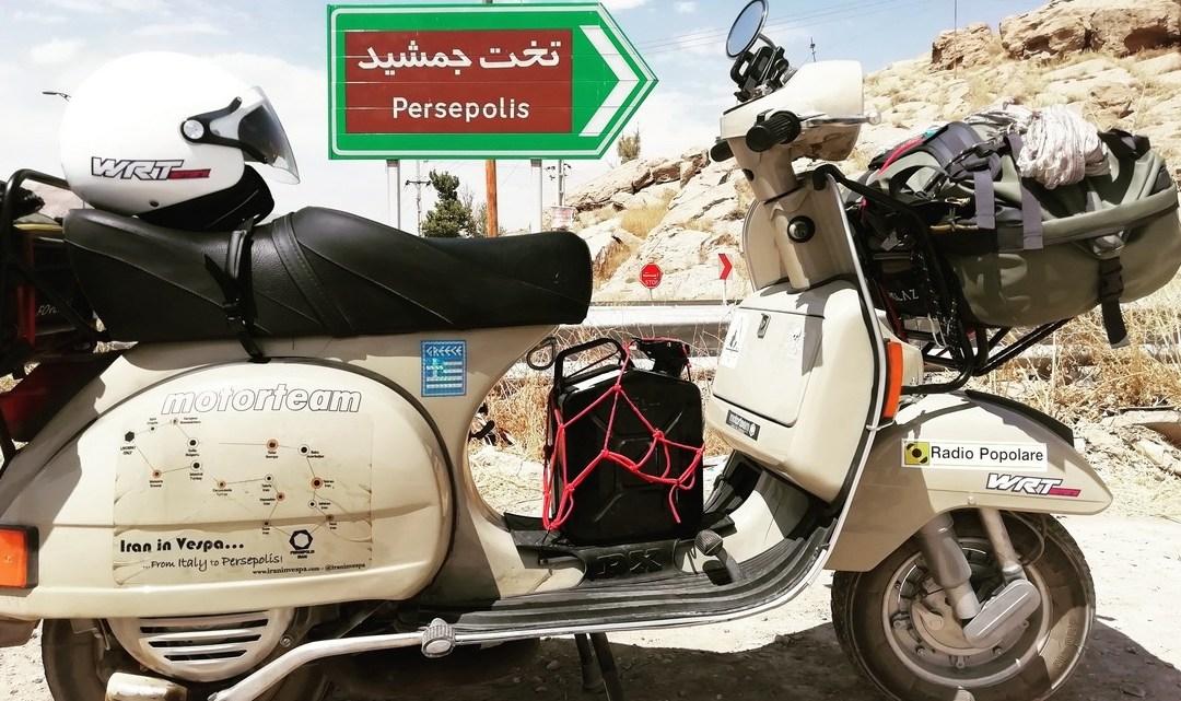 Iran In Vespa: verso Persepoli e ritorno. Seconda parte