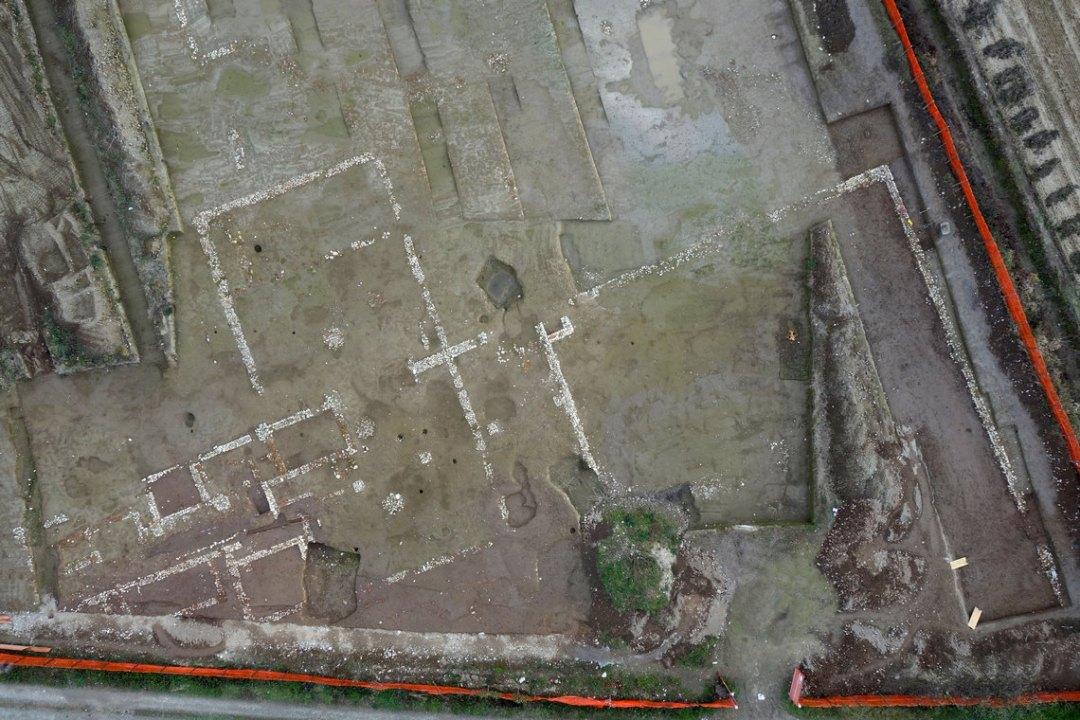 area di scavo Biandrate