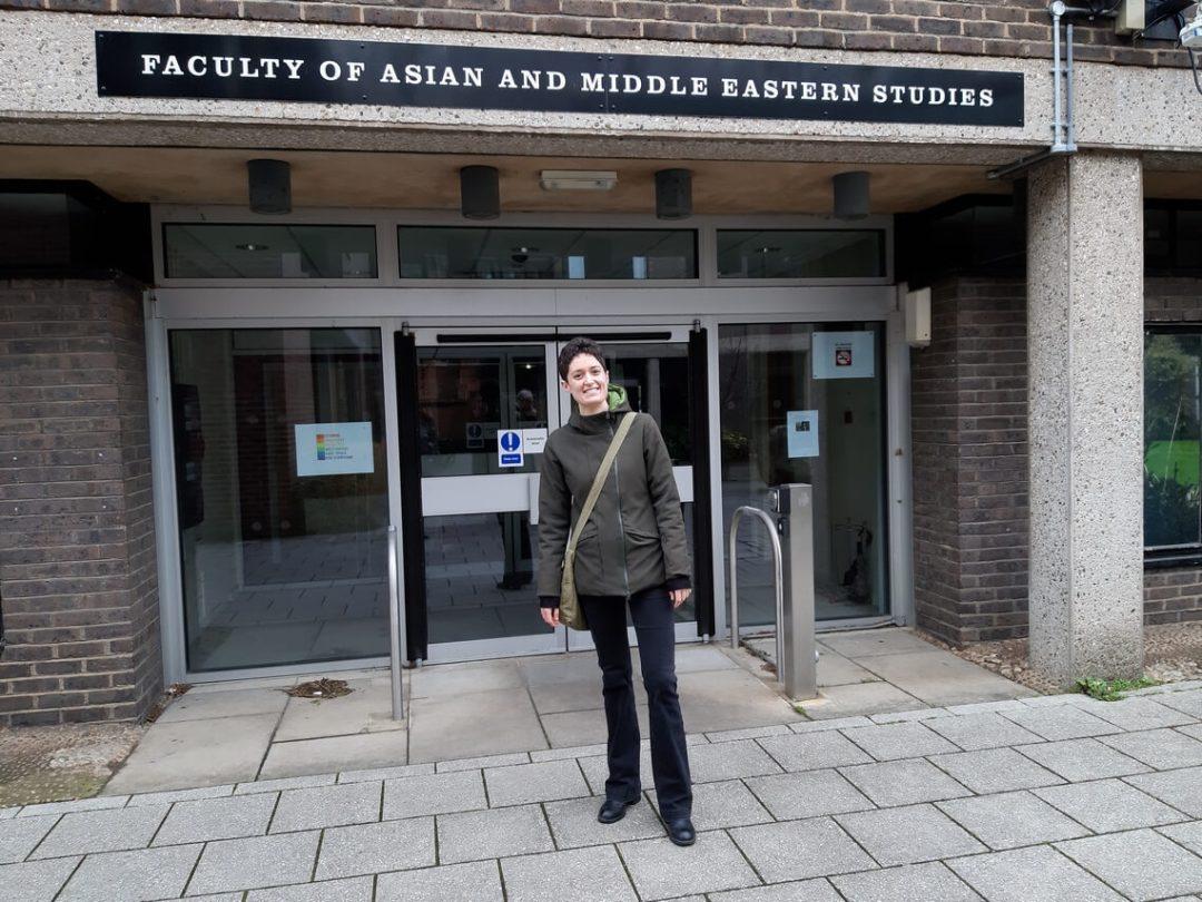 Lea Niccolai a Cambridge