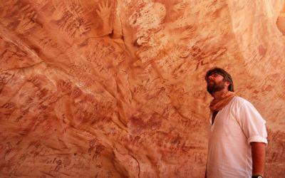 Pitture rupestri sahariane del Gilf Kebir: finalmente sappiamo da dove venivano i pigmenti