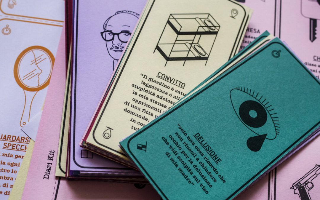 Diari incrociati: il gioco di carte del Piccolo museo del diario