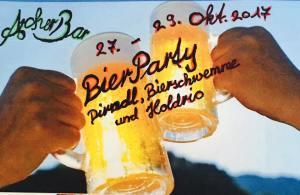 Bierfest / Holdrio-Party 27. bis 29. Oktober @ ArcherBar Festzelt