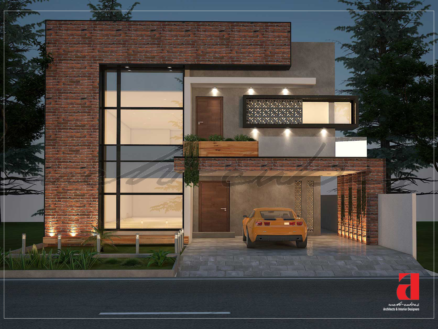 Modern Home Design in DHA Lahore by Archi Cubes