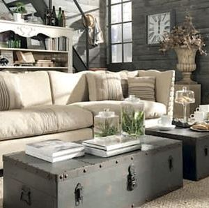 SHABBY CHIC/ INDUSTRIAL