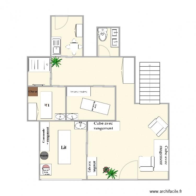 Plan Institut A Beaut Plan 6 Pices 63 M2 Dessin Par