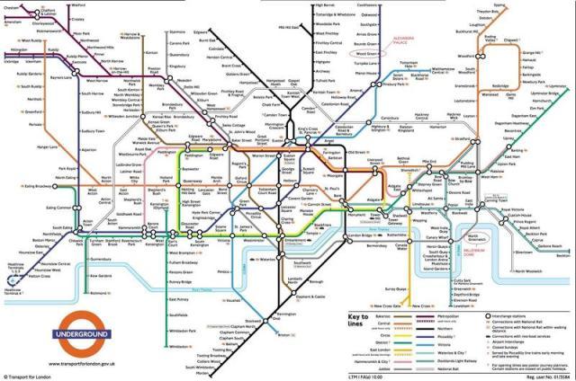10 Cool Metro Maps Archigardener