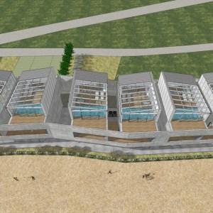 고성 풀빌라 계획안 | Pool villa proposal