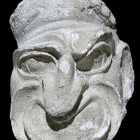 Maschera maschile - Gesso - S.N.I.