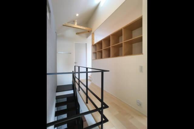 No.112 小金井市注文住宅:N邸事例 2Fホールの画像