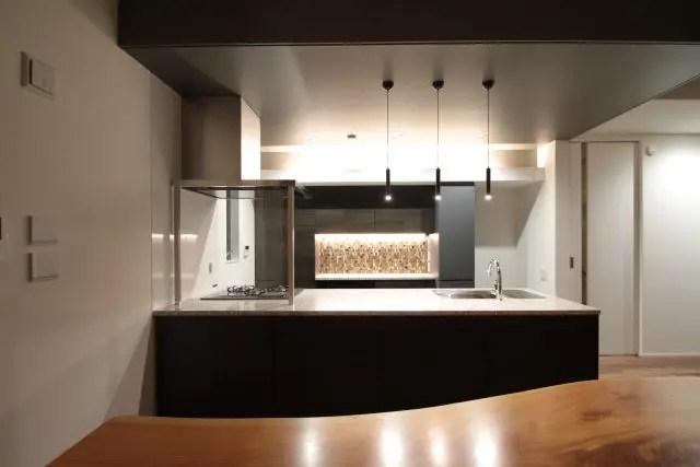 練馬区注文住宅のキッチン