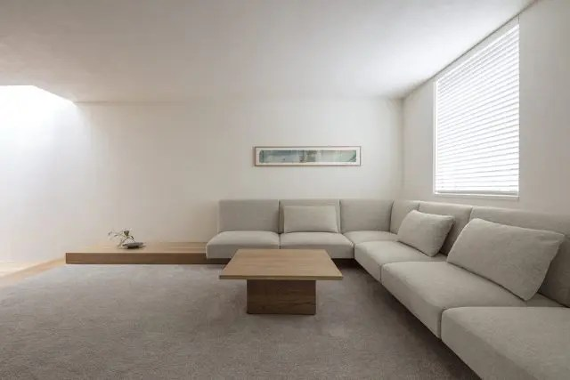 2.渋谷区注文住宅のリビング1