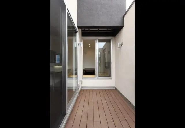 1.武蔵野市注文住宅の中庭