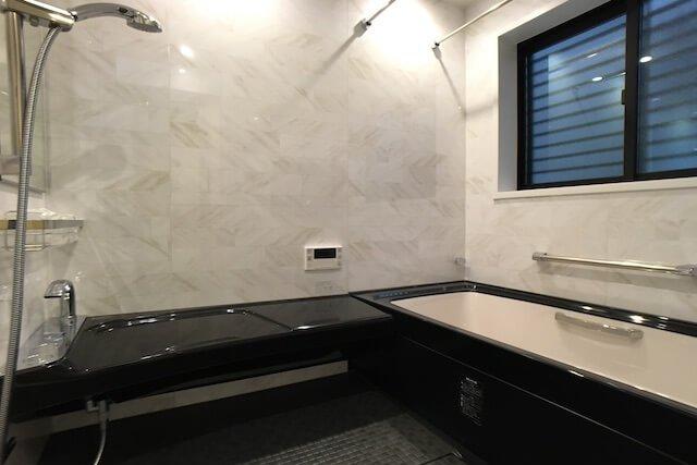No.117 練馬区注文住宅 U邸事例 浴室の画像