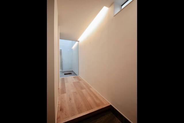 No.120 武蔵野市注文住宅 S邸事例 玄関ホールの画像