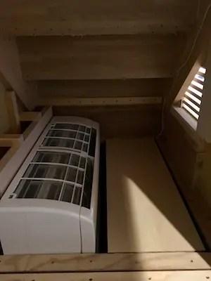 世田谷区注文住宅の床下エアコン設置事例2