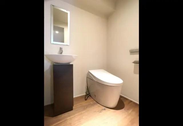 2.港区マンションリフォーム-S邸のトイレ画像