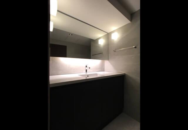 No.127 港区マンションリフォーム 洗面所の画像