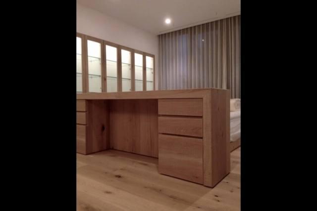 世田谷区注文住宅:K邸のベッドヘッドカウンター画像