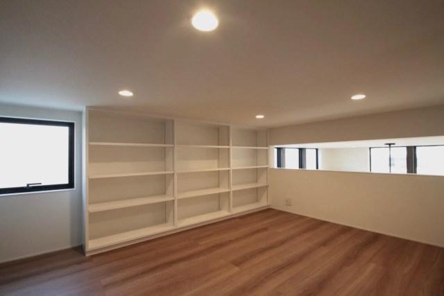 練馬区注文住宅:TH邸のロフト収納