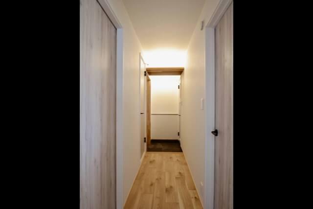 No.R09 文京区マンションリフォーム 玄関、廊下の画像
