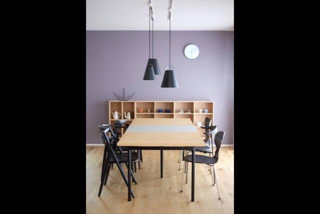 No.118 所沢市注文住宅|SE構法 M邸事例 ダイニングテーブルの画像