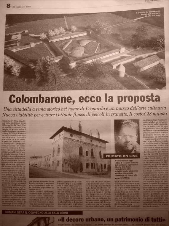Colombarone Vigevano
