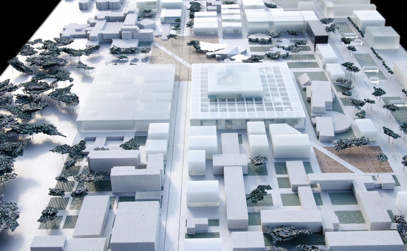 New Cole Centrale Engineering School By OMA