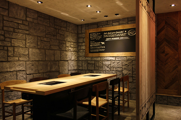 Yakaniku Sakamoto Restaurant By Design Office Dress