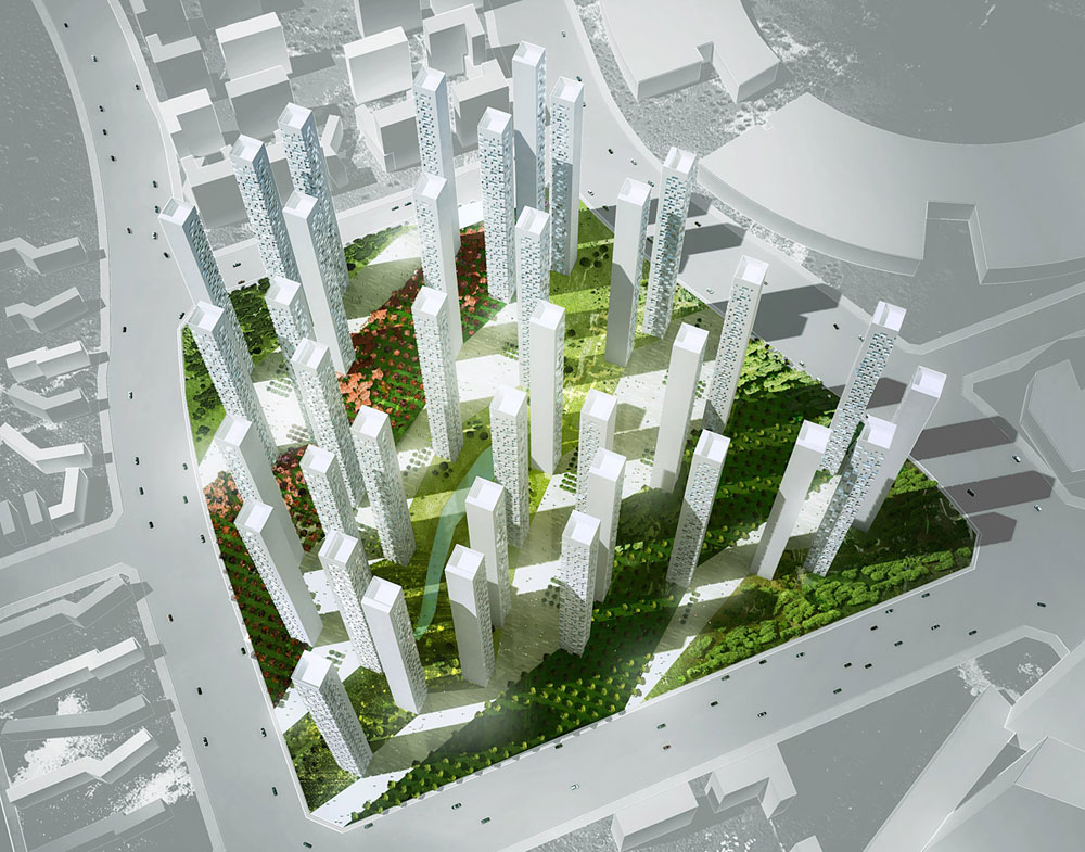 Songdo Landmark City Block A4 By Rex
