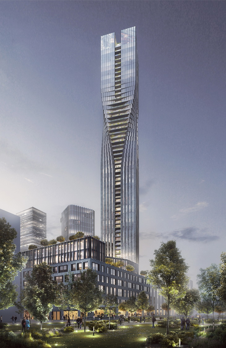 SOM And Entasis Win International Design Competition For Landmark Tower In Gothenburg