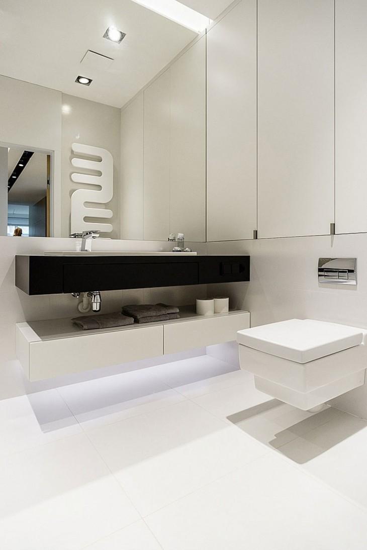 Modern Minimalist Apartment In Gdynia By Dragon Art Design