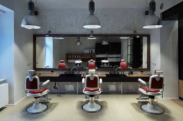 Barber Shop In Prague By Oooox Studio