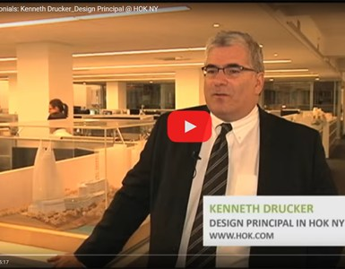 Kenneth Drucker of HOK speaks about Architect-US