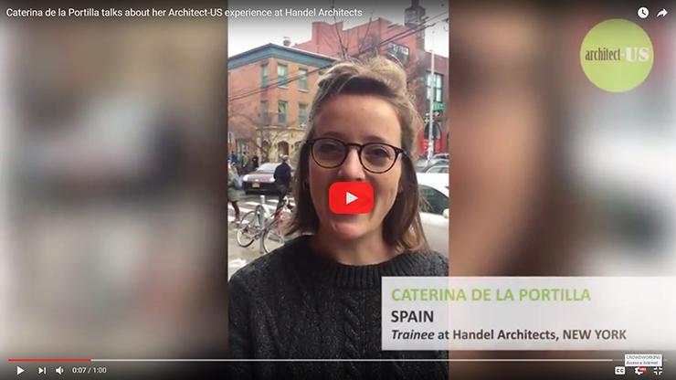 Testimonial Caterina de la Portilla en Handel Architects