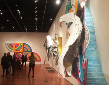Frank Stella, The whiteness of the whale