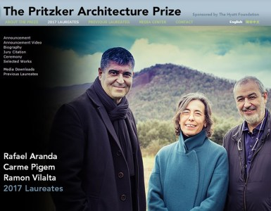 Pritzker 2017 RCR Aranda_Pigem_Vilalta