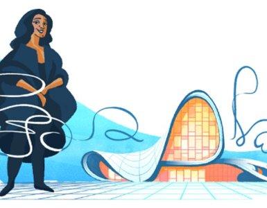 Zaha Hadid Doodle